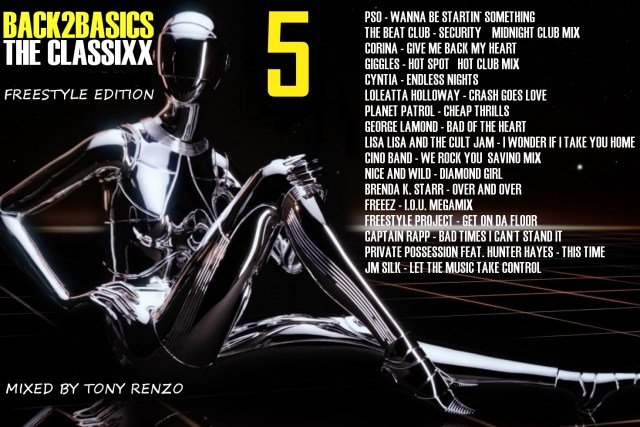Back2Basics Mix 5 The Classixx Tony Renzo