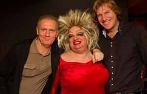 Live optreden Fred Ventura en Ryan Paris in Veendam