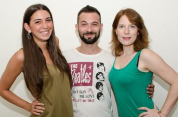 Giovanni, Alessia e Giuliana