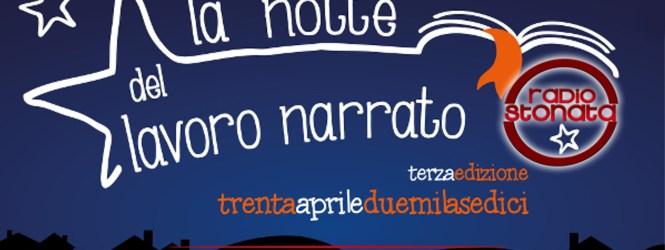 Il #lavoronarrato … su Radio Stonata! Lunedi' 18 aprile dalle 19.00 scopriamo di cosa si tratta