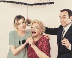 """Sandra Milo, Giorgia Wurth e Emiliano Reggente ospiti a POLTRONISSIMA con """"100 MQ"""""""