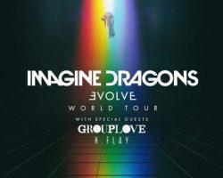 """IMAGINE DRAGONS Il nuovo album """"EVOLVE"""" È l'album internazionale più venduto in Italia"""