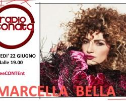 Marcella Bella ospite a #freeCONTEnt giovedì 22 giugno