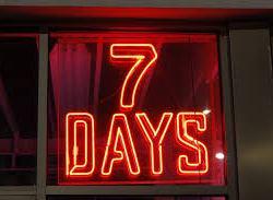 Meno di 7 giorni! Ecco la programmazione di lunedi' e martedi'!