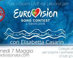 La prima semifinale di Eurovision 2018 (in filigrana)