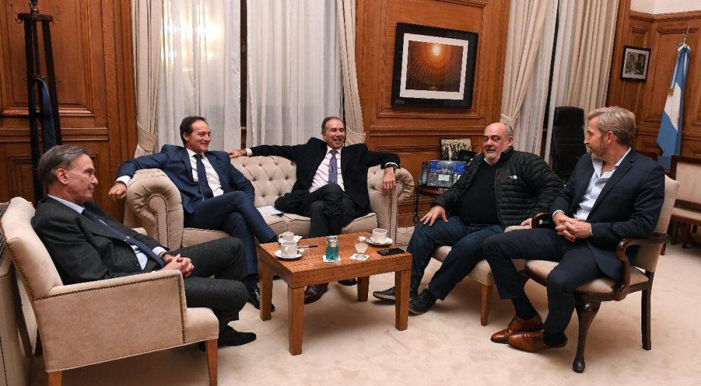 foto: Camau, Colombi, Frigerio, Pichetto y Schiavone juntos en un cónclave