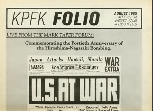 KPFA folio 1955