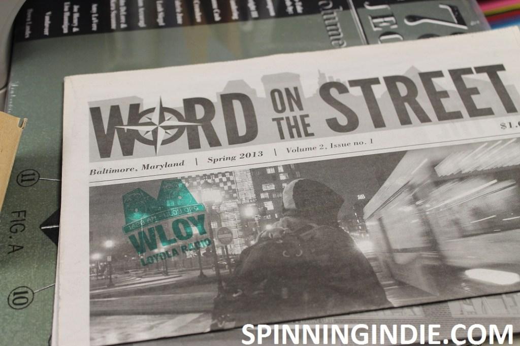 Word on the Street newspaper