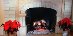 KOFY 2014 yule log
