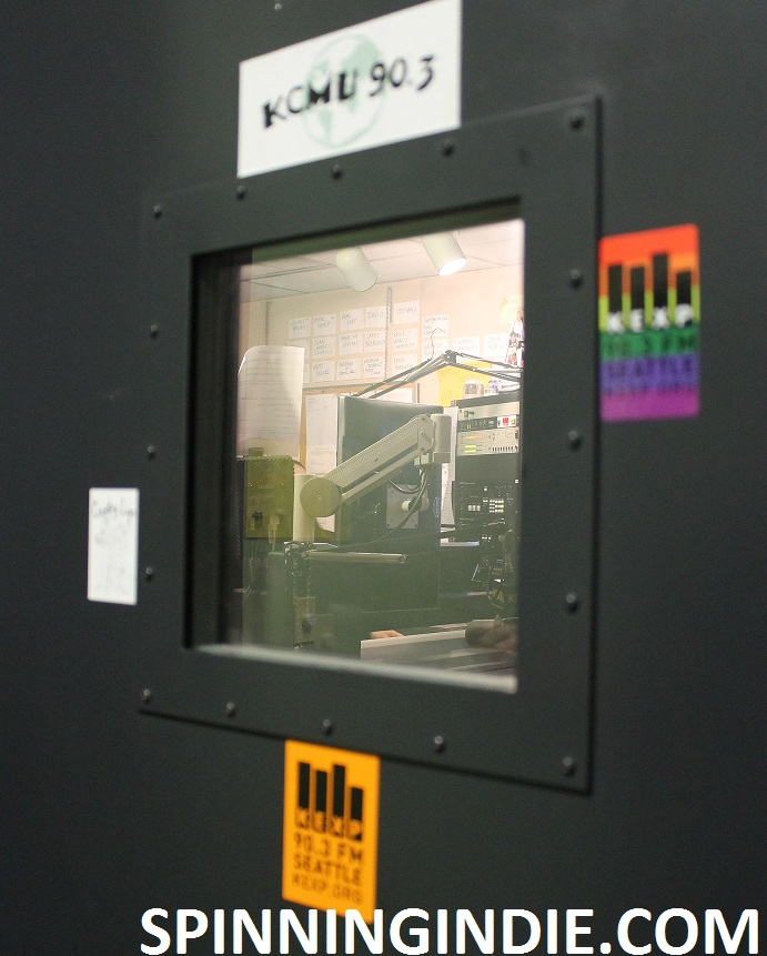 Peeking into KEXP studio