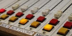 radio mixing board