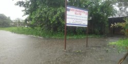 Radio Brahmaputra, sign in flood