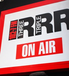 Triple R community radio of Melbourne.