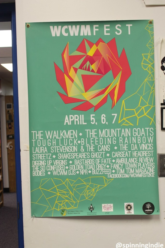 Poster for a past WCWM Fest. Photo: J. Waits