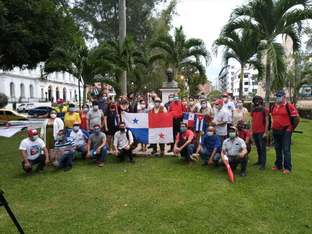 La Asociación martiana de cubanos residentes en Panamá se pronuncia contra la agresión a la sede de la Embajada cubana