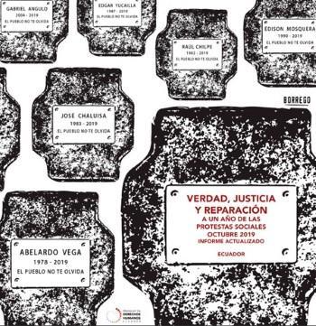 Ecuador. Verdad, Justicia y Reparación: a un año de las protestas sociales de octubre