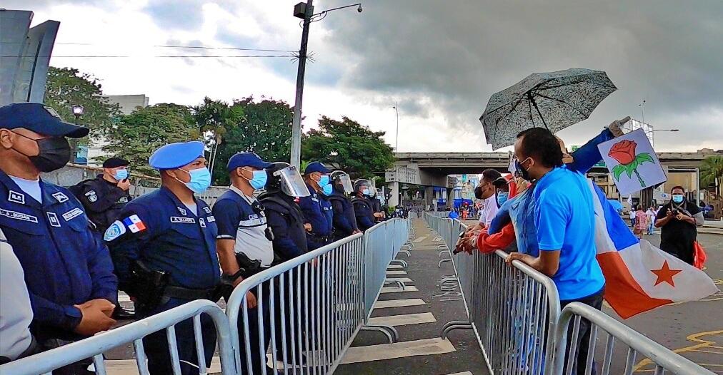 2020. Un año de represiones y arbitrariedades al pueblo panameño que denuncia la corrupción y desigualdad social [Audio]