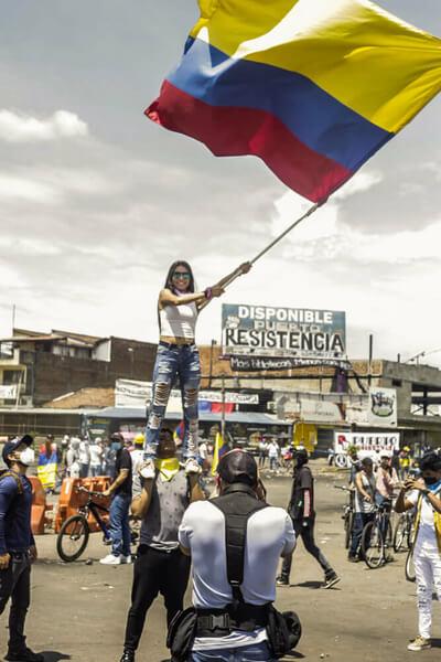 Protestas en Colombia, un grito de los excluidos que resiste en las calles