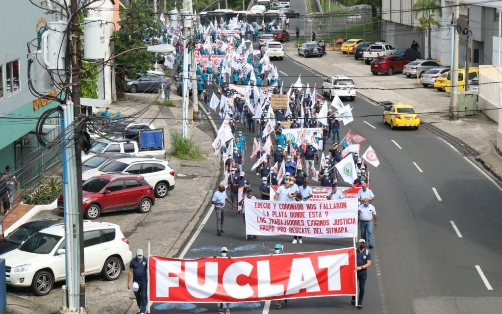 Panamá. La clase trabajadora conmemora el 1 de mayo [Multimedia]