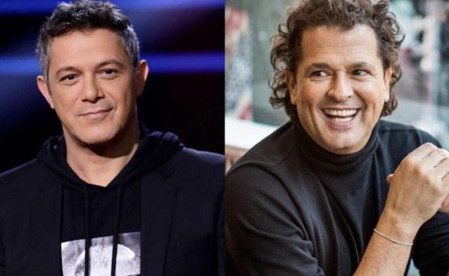 Carlos Vives Y Alejandro Sanz Se Reencuentran En Bogotá