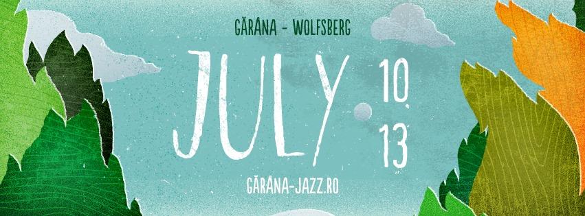 Garana Jazz Festival afis 2014