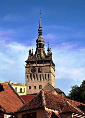 imagini din cetate,Turnul Cu Ceas