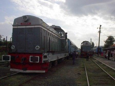 Tren in gara Oravita