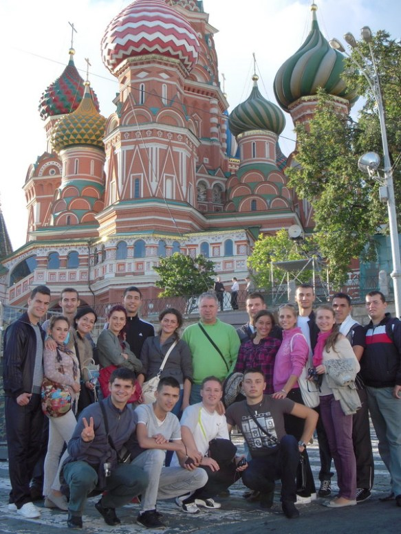 2011, Moscova 1