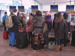 Aeroportul International Timisoara inchis viscol (3)