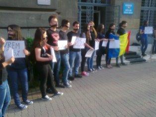 protest studenti OSUT Palatul Administrativ (1)