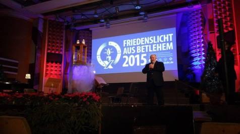 Lumina Pacii de la Bethleem la Timisoara (3)