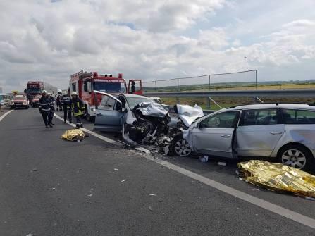accident autostrada A 6 A 1 (2)
