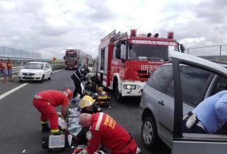 accident autostrada A 6 A 1 (7)