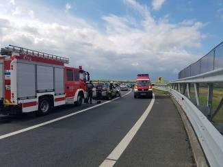 accident autostrada A 6 A 1 (8)