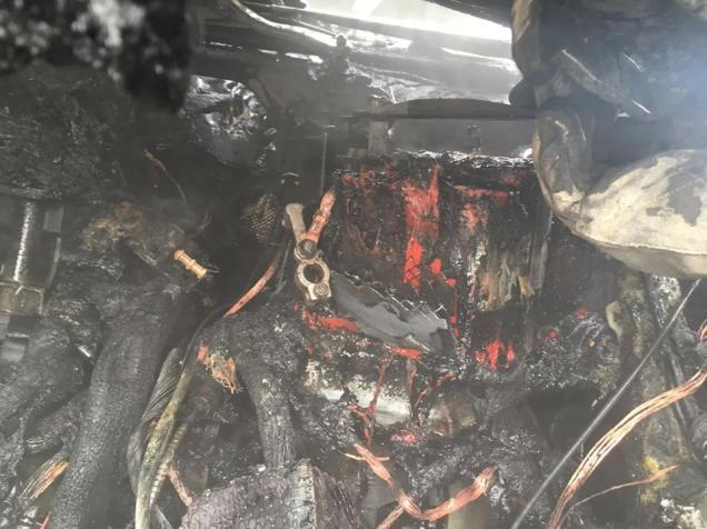 incendiu masina ghiroda (1)