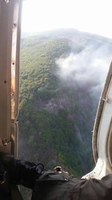 incendiu padure Blajeni (2)