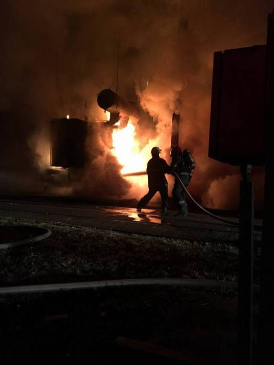 incendiu transformator mall (3)