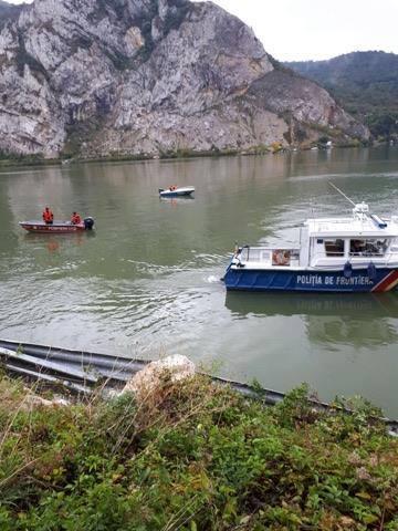 cautari masina in Dunare ISU Semenic (1)