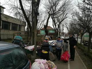 evacuare cersetori ziarul Timisoara 1