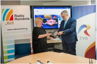 2Acord intre Radio Romania si TVR 6febr2018 - Foto Alexandru Dolea