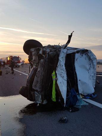 accident autostrada Deva Sebes 26 mai 2018 3