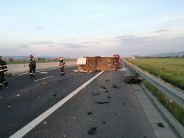 accident autostrada Deva Sebes 26 mai 2018 6
