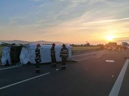 accident autostrada Deva Sebes 26 mai 2018