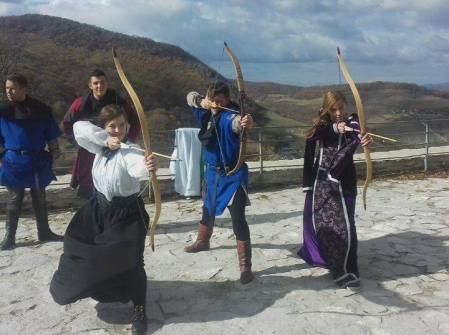 cavaleri domnite cetatea deva