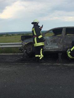 incendiu masina autostrada A1 (4)