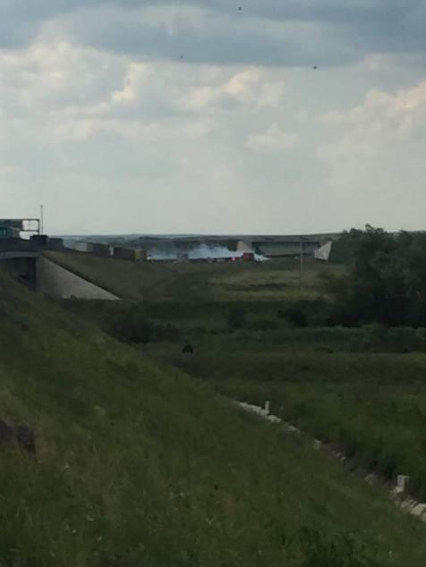 incendiu masina autostrada A1 (5)