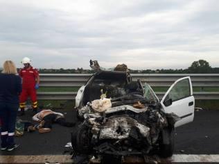 accident autostrada A1 contrasens (6)