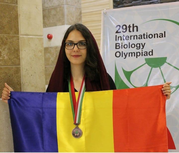 Silvia Alda bronz pentru Romania la Olimpiada Internationala de Biologie 2018
