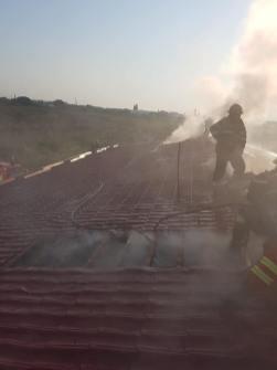 incendiu centru medical ar (1)