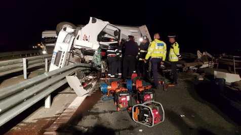 accident autostrada arad (5)